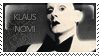 Klaus Nomi by corda-stamps