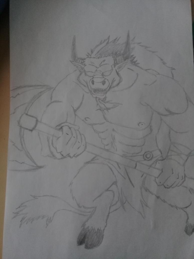 Minotaur by ptegarcipto