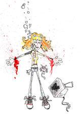 attack of the suicide kitten by dietstallion
