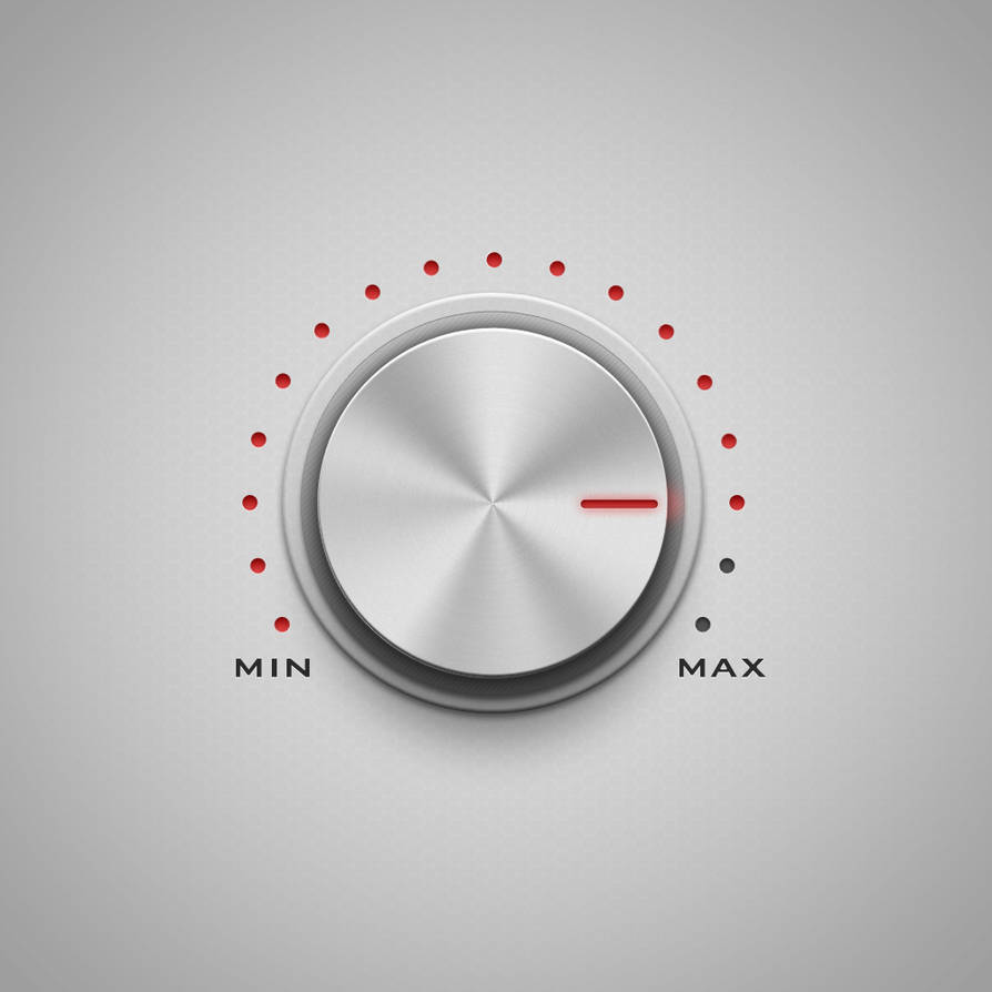 volume knob +free psd