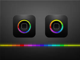 iPhone Home Button by nepst3r