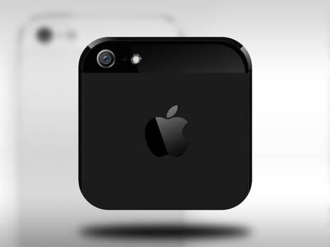 iPhone 5 iOS icon