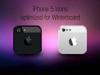 iPhone 5 icons