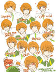 expressions . sengoku by peachtail
