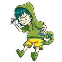 Chameleon Girl