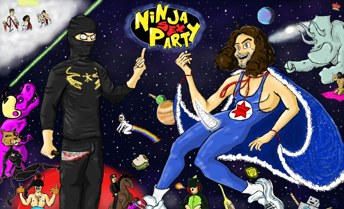 cinema Århus C. ninja sex party