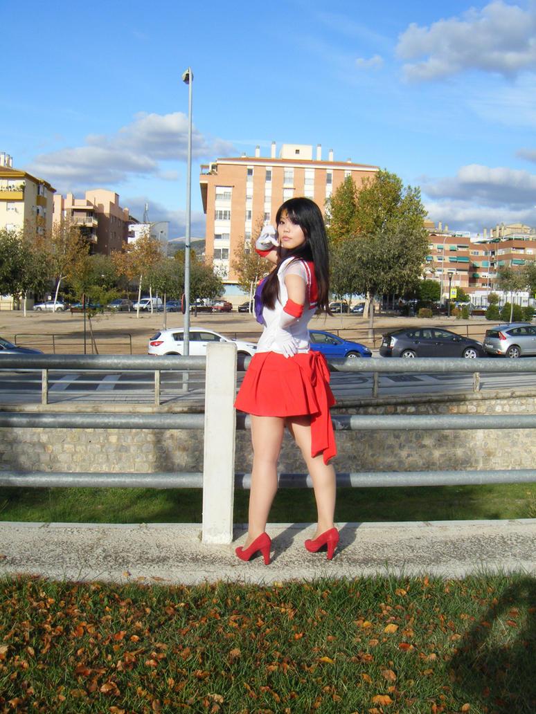 Sailor Mars by WuHara