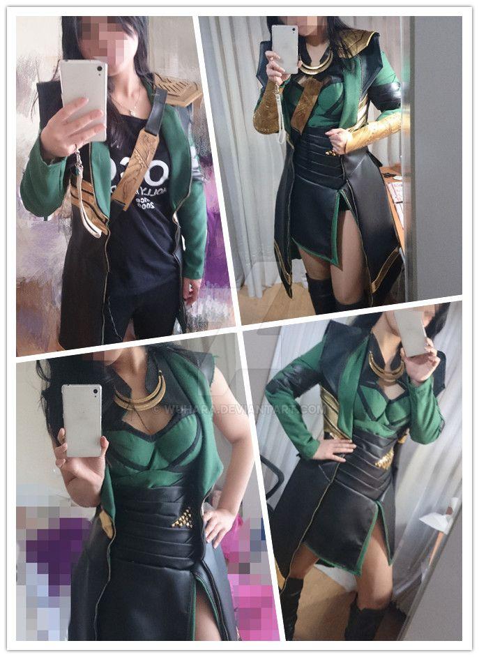 Loki (gender bender) costume by WuHara