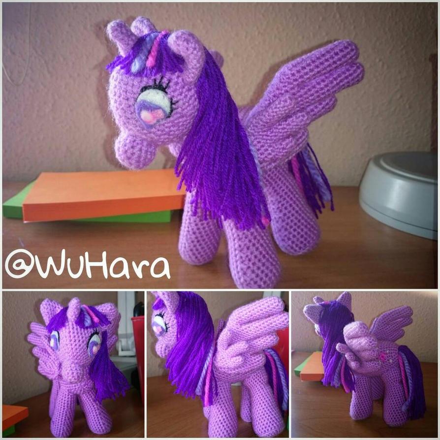 Twilight Sparkle amigurumi crochet by WuHara