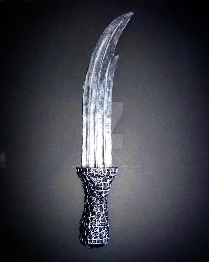 Queen Ravenna's Dagger by WuHara