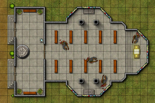 Tactical Map - Church of Sehanine