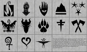 13th Age Icons in Vector Format by DLIMedia