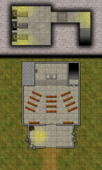 Ruined Temple/Crypt (unlabeled)