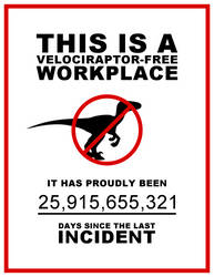 Velociraptor Safety in the Workplace