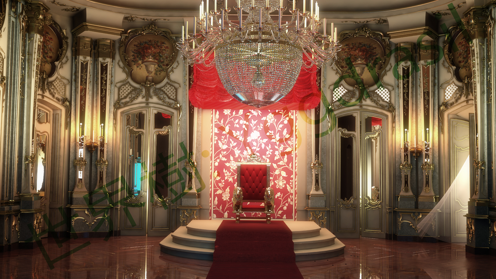 Throne Room By Moonsttar On Deviantart