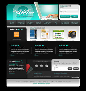 bluelight designers by theblackpixel