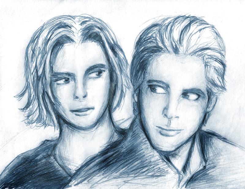 Jasper and Carlisle by Flauschvieh