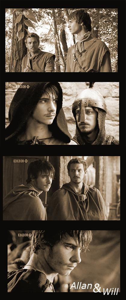 Robin Hood BBC Will and Allan by Flauschvieh