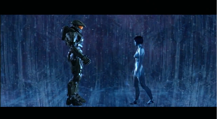 Halo 4 Master Chief And Cortana By Thewarrises On Deviantart
