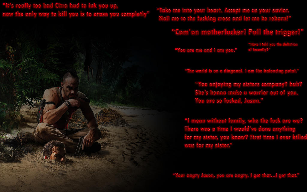 Far Cry 3 Vaas Quotes By Thewarrises On Deviantart