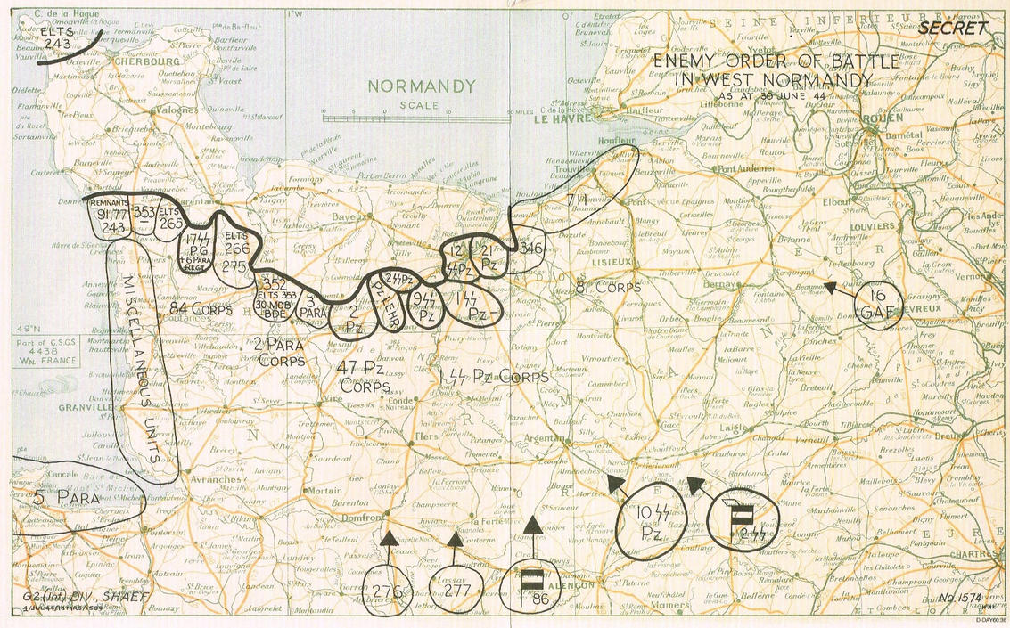 D-Day Files : Mapped Out (C) by TheWarRises