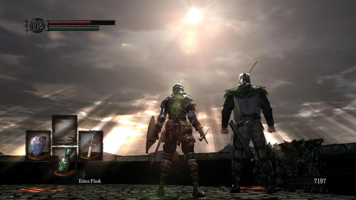 Dark Souls : Praising with Sunbro by TheWarRises