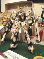 Gundam Unicorn WIP by alphaleo14