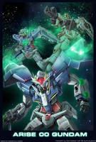 Arise 00 Gundam by alphaleo14