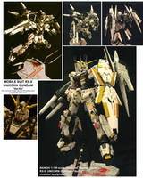MG RX-0 UNICORN GUNDAM by alphaleo14