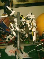 MG Unicorn gundam again by alphaleo14
