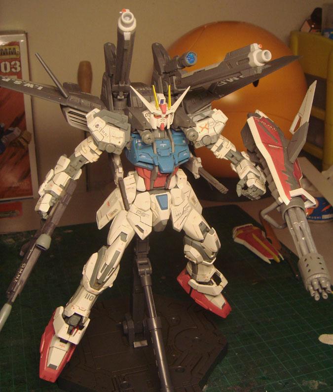 MG strike Gundam IWSP by alphaleo14