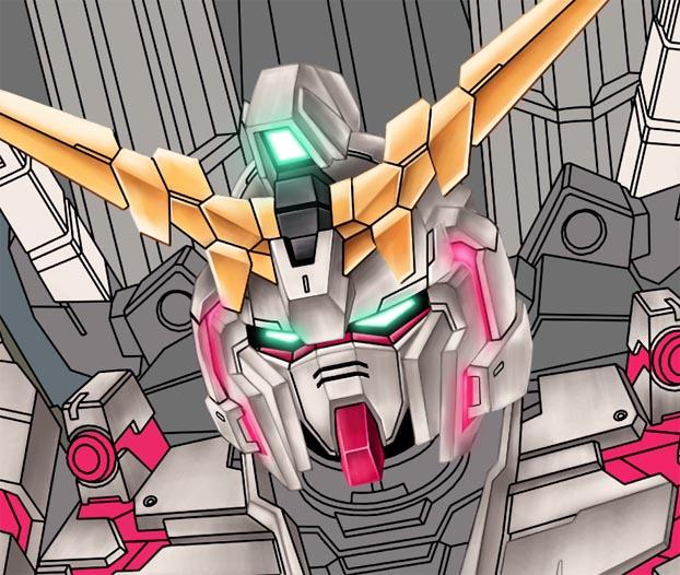 Unicorn Gundam WIP 3 by alphaleo14