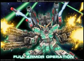 Full Armor Unicorn Gundam by alphaleo14