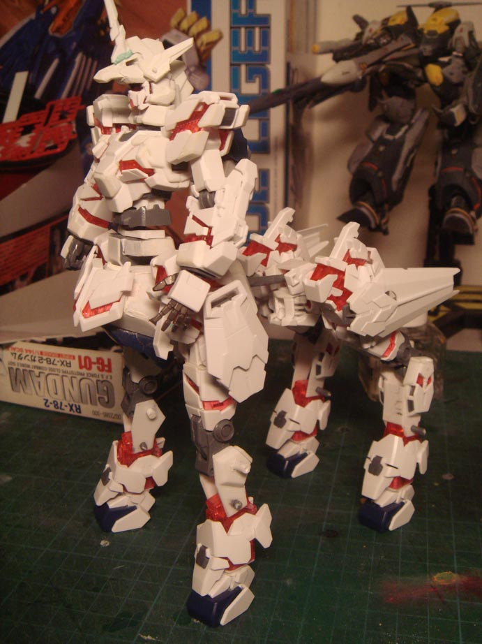 Gundam unicorn centaur WIP by alphaleo14
