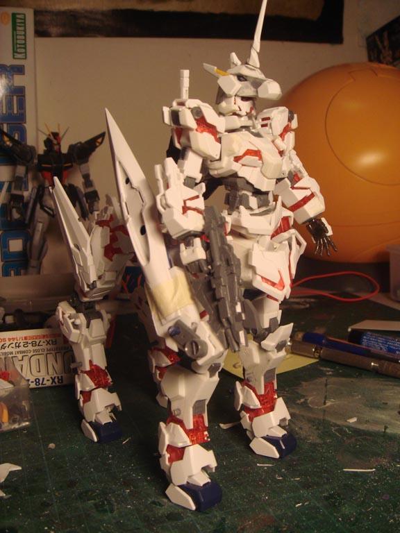 Gundam unicorn centaur WIP 3 by alphaleo14