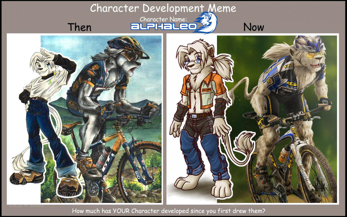 Character Developement Meme : by alphaleo14