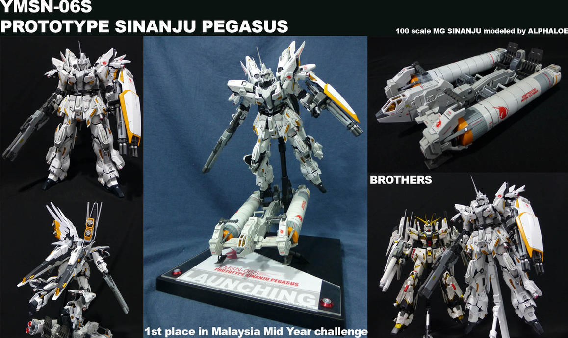 Sinanju Pegasus by alphaleo14