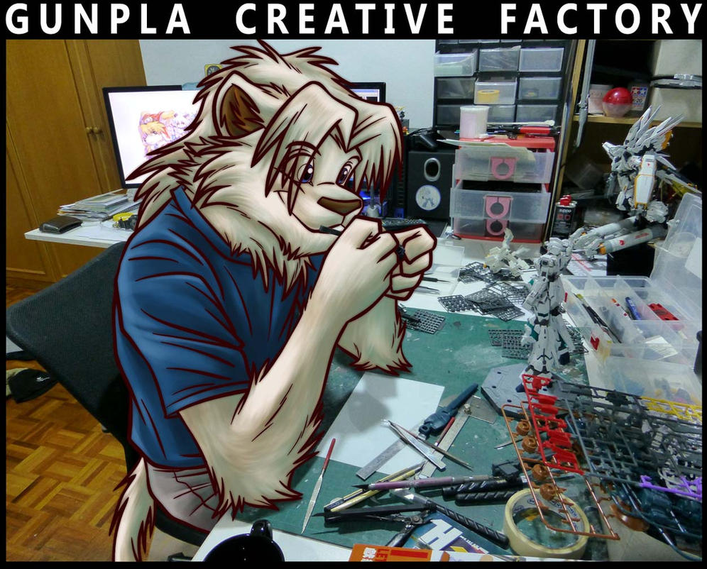 Alphaleo's Gunpla Creative Factory by alphaleo14