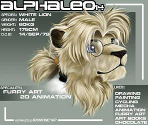 new ID by alphaleo14
