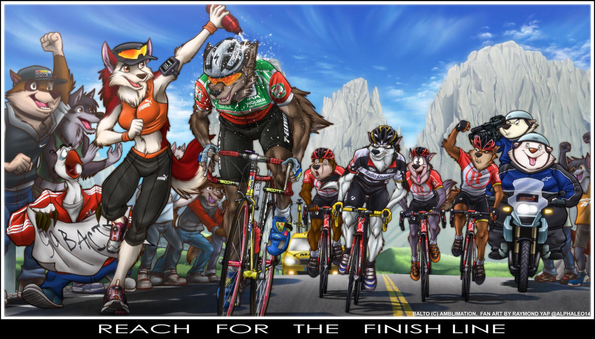 Balto Reach For The Finish Line By Alphaleo14 On Deviantart