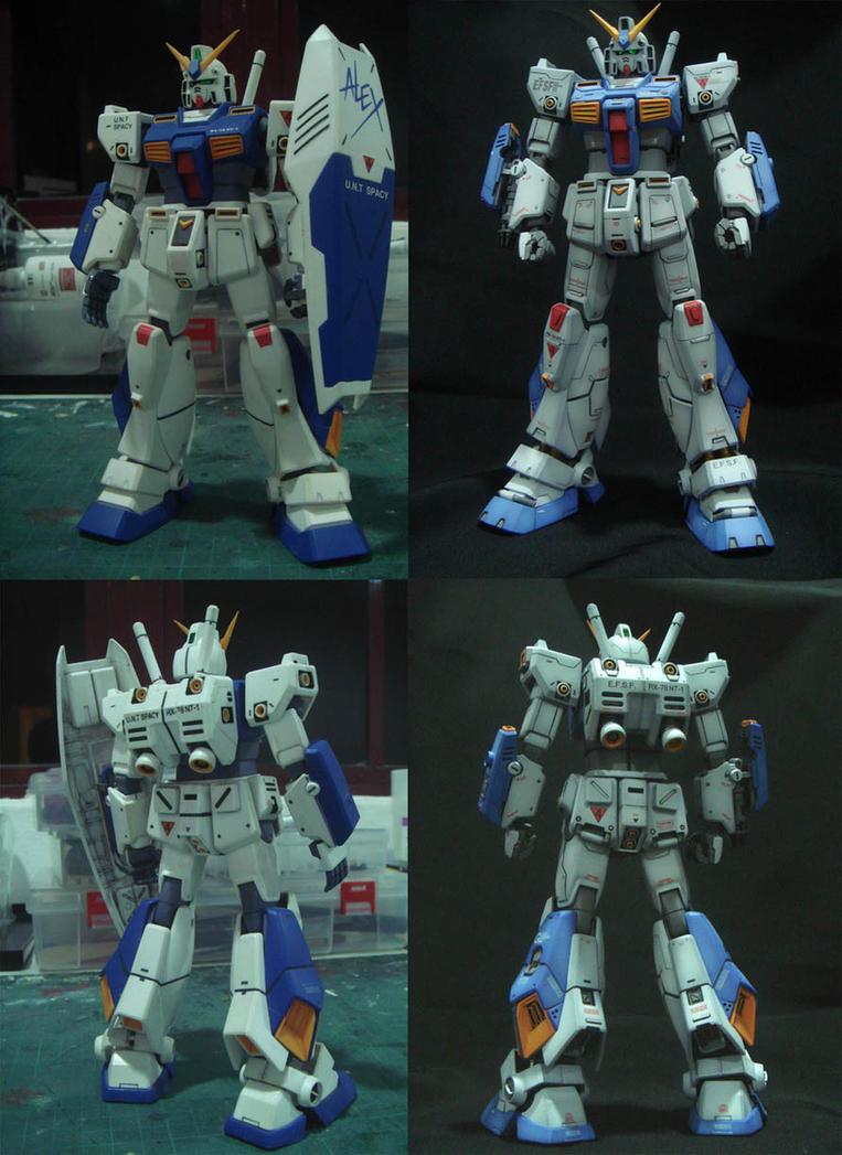 Master Grade Gundam Alex NT-1 by alphaleo14
