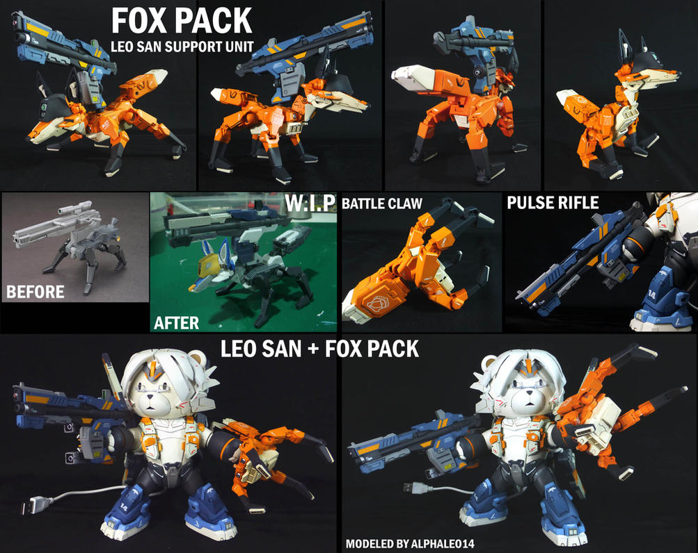 FOX PACK Leo San Supporting Unit by alphaleo14