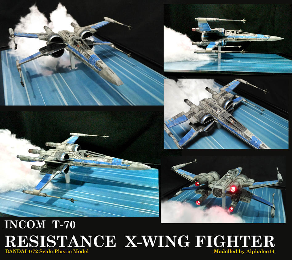 X-wing Alphaleo14 Build by alphaleo14