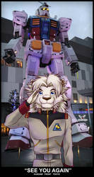 See you again Gundam Front Tokyo by alphaleo14