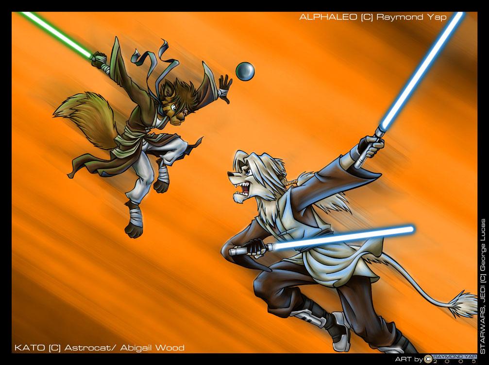 Kato VS Alphaleo by alphaleo14