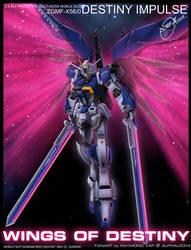 Destiny Impulse Gundam by alphaleo14