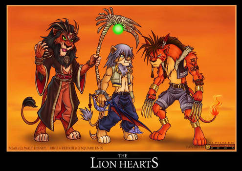KH2 Lion Hearts II