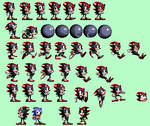 Shadow The Hedgehog in Sonic 1 Style