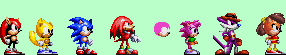 Sonic 32X Sprites by RatherNoiceArt