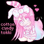 Tokki Pixel by CottonCandyTokki